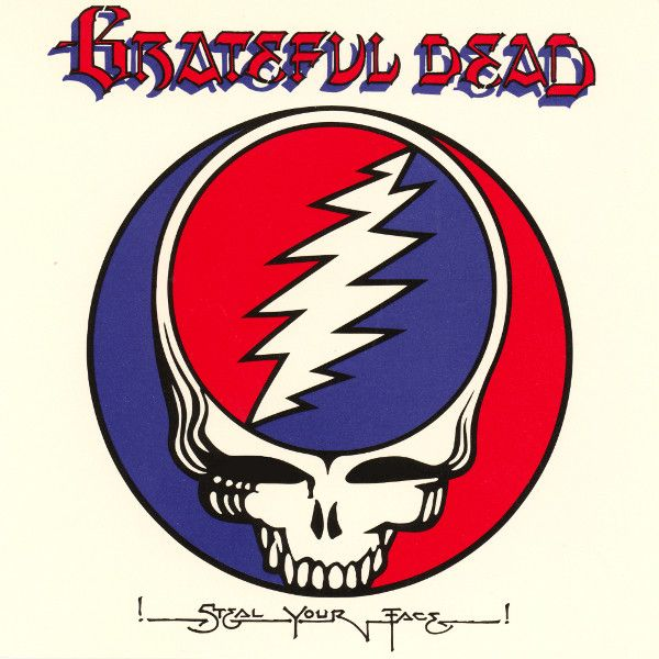 Nearly White Hot Stamper - Grateful Dead - Steal Your Face