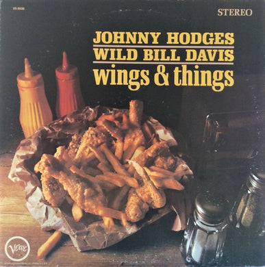 Hodges, Johnny / Wild Bill Davis - Wings and Things - White Hot Stamper