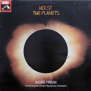 Holst - The Planets / Previn / LSO - Nearly White Hot Stamper (With Issues)