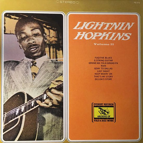 Super Hot Stamper - Lightnin' Hopkins - Volume II