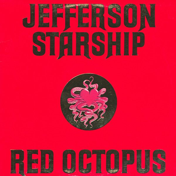 Nearly White Hot Stamper - Jefferson Starship - Red Octopus