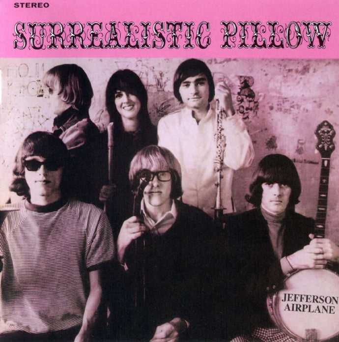 White Hot Stamper - Jefferson Airplane - Surrealistic Pillow