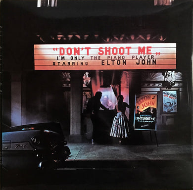 John, Elton - Don't Shoot Me I'm Only The Piano Player - Nearly White Hot Stamper (With Issues)
