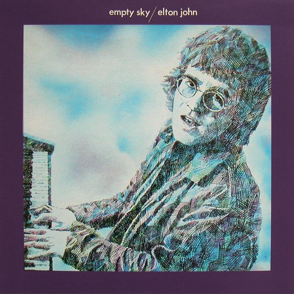 White Hot Stamper - Elton John - Empty Sky