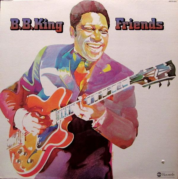Nearly White Hot Stamper - B.B. King - Friends