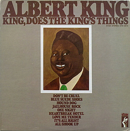 King, Albert - King, Does The King's Things - Super Hot Stamper (Quiet Vinyl)
