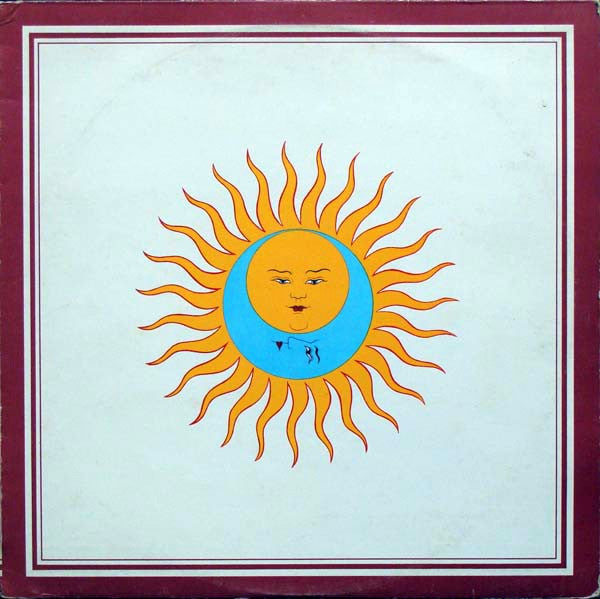 King Crimson - Larks' Tongues in Aspic - White Hot Stamper (With Issues)