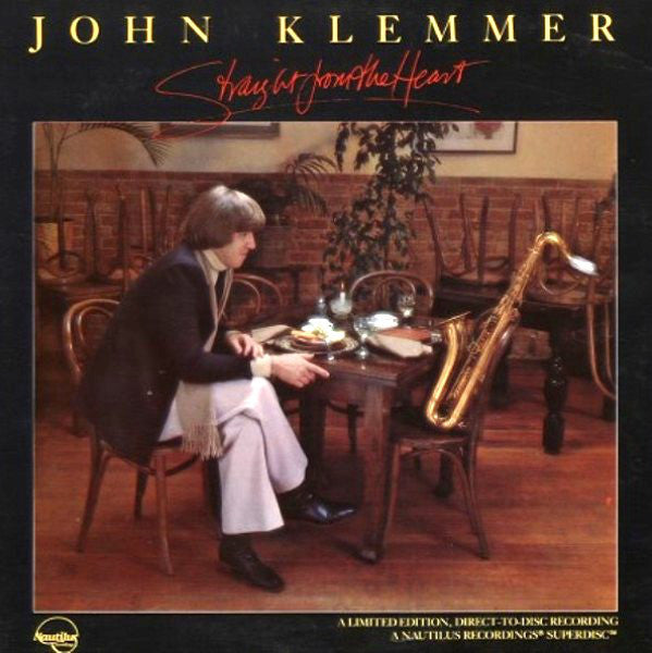Klemmer, John - Straight From The Heart - White Hot Stamper