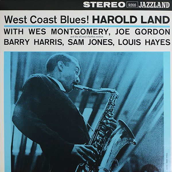 Nearly White Hot Stamper - Harold Land - West Coast Blues!
