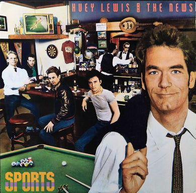 Super Hot Stamper - Huey Lewis & The News - Sports