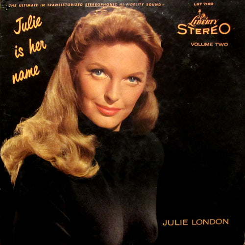 London, Julie - Julie Is Her Name, Volume 2 - White Hot Stamper (With Issues)