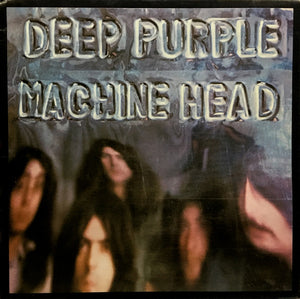 Deep Purple - Machine Head - White Hot Stamper (With Issues)