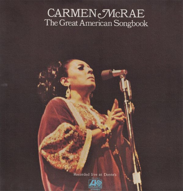 White Hot Stamper - Carmen McRae - The Great American Songbook