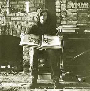 Nearly White Hot Stamper - Graham Nash - Wild Tales
