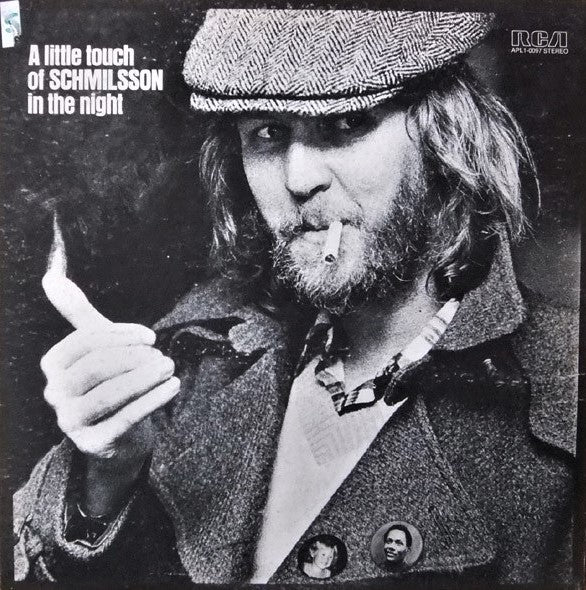 Nilsson, Harry - A Little Touch of Schmilsson in the Night - White Hot Stamper