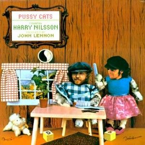 Nearly White Hot Stamper - Harry Nilsson - Pussy Cats