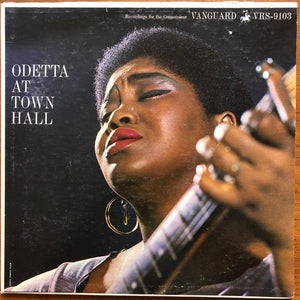 White Hot Stamper - Odetta - At Town Hall