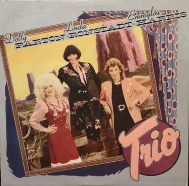 Parton, Dolly, Linda Ronstadt and Emmylou Harris - Trio - Super Hot Stamper