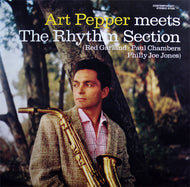 Pepper, Art - Meets The Rhythm Section - Nearly White Hot Stamper