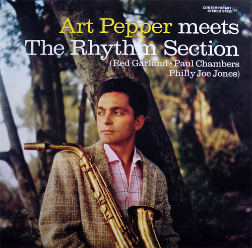 Pepper, Art - Meets The Rhythm Section - Super Hot Stamper