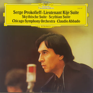 Prokofiev / Lt. Kije and Scythian Suite / Abbado - Nearly White Hot Stamper (Quiet Vinyl)