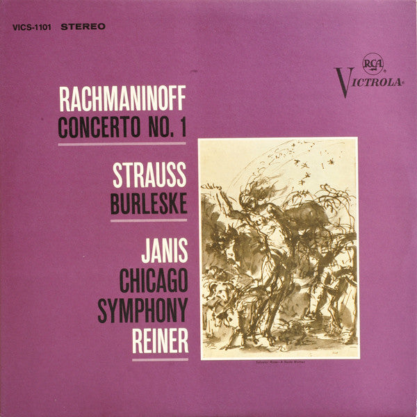 Rachmaninoff / Piano Concerto No. 1 / Janis / Reiner - Super Hot Stamper