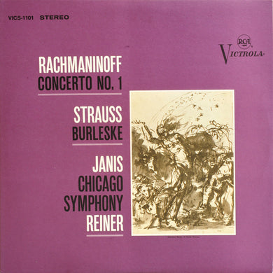 Rachmaninoff / Piano Concerto No. 1 / Janis / Reiner - White Hot Stamper (With Issues)