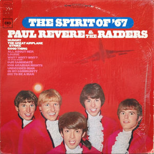 Super Hot Stamper (Quiet) - Paul Revere and the Raiders - The Spirit of '67