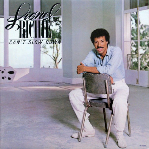 Richie, Lionel - Can't Slow Down - Nearly White Hot Stamper