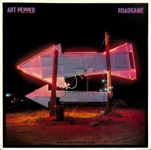 Pepper, Art - Roadgame - White Hot Stamper