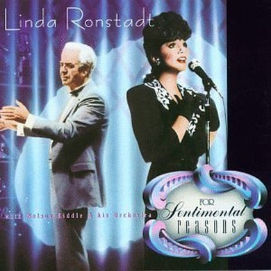 White Hot Stamper - Linda Ronstadt - For Sentimental Reasons