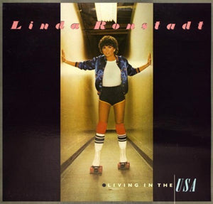White Hot Stamper - Linda Ronstadt - Living In The USA