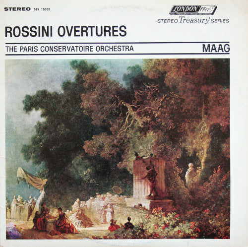 Rossini / Overtures / Maag / PCO - Nearly White Hot Stamper
