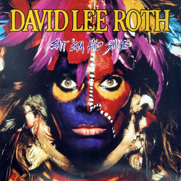 Nearly White Hot Stamper - David Lee Roth - Eat 'Em and Smile