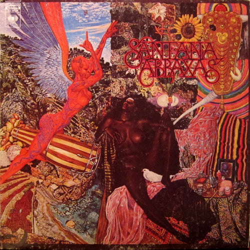 Santana - Abraxas - Nearly White Hot Stamper