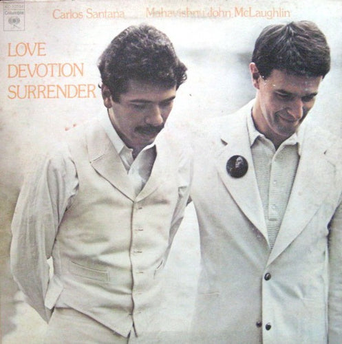 Santana, Carlos, John McLauglin and The Mahavishnu Orchestra - Love Devotion Surrender - Super Hot Stamper
