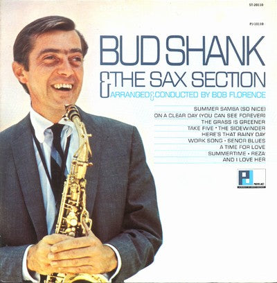 White Hot Stamper - Bud Shank - And the Sax Section