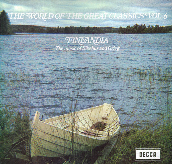 Sibelius - Finlandia - The Music of Sibelius and Grieg / Mackerras - Super Hot Stamper