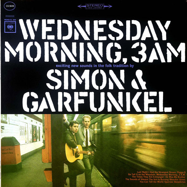 Simon and Garfunkel - Wednesday Morning, 3 A.M. - Super Hot Stamper (With Issues)