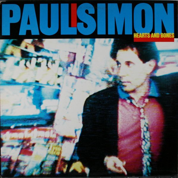 Nearly White Hot Stamper - Paul Simon - Hearts and Bones