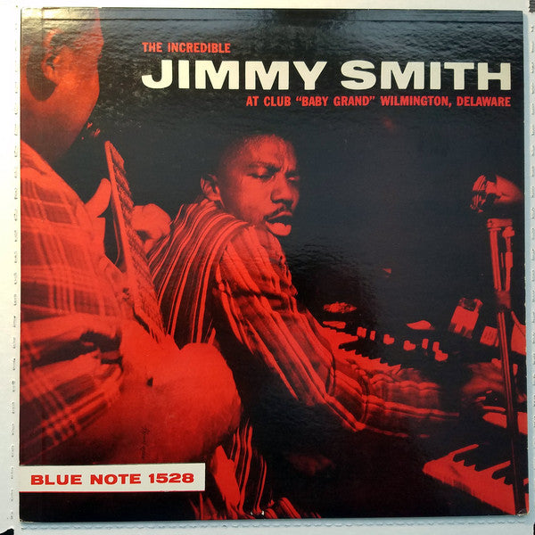 Smith, Jimmy - At Club Baby Grand - White Hot Stamper
