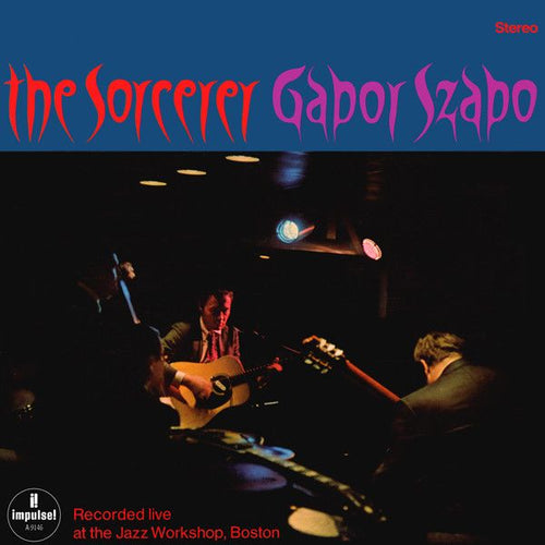 Nearly White Hot Stamper - Gabor Szabo - The Sorcerer