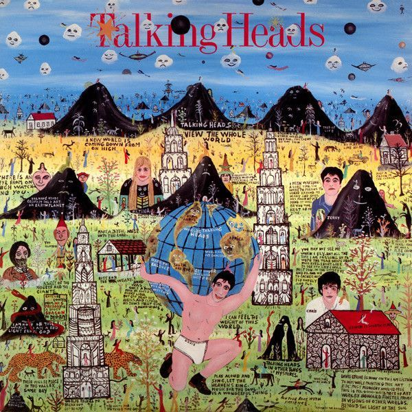 White Hot Stamper - Talking Heads - Little Creatures