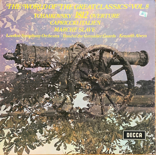 Tchaikovsky / 1812 Overture, Marche Slave and More / Alwyn - White Hot Stamper
