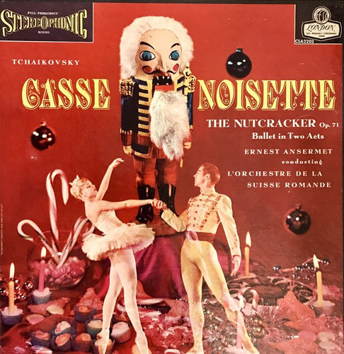 Tchaikovsky - The Nutcracker Ballet in Two Acts / Ansermet - Super Hot Stamper