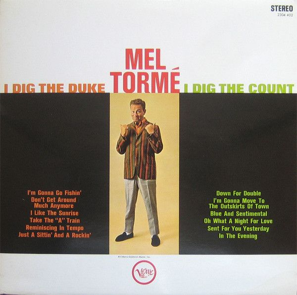 Super Hot Stamper - Mel Torme - I Dig The Duke - I Dig The Count