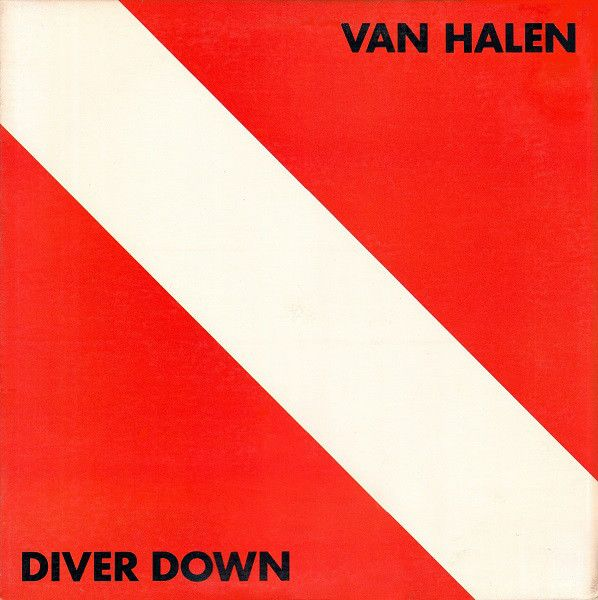 Van Halen - Diver Down - Super Hot Stamper