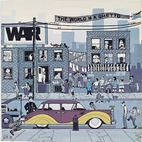 White Hot Stamper - U2 - War