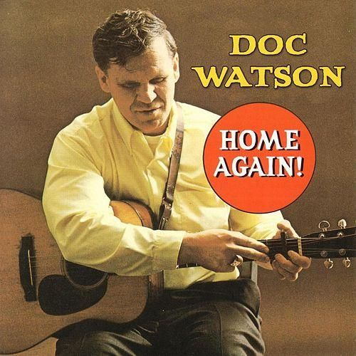 Nearly White Hot Stamper - Doc Watson - Home Again