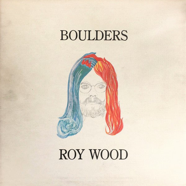 Wood, Roy - Boulders - Nearly White Hot Stamper (Quiet Vinyl)